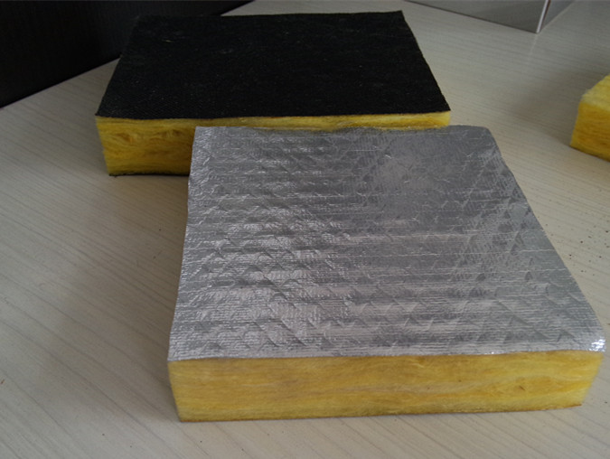 Fiberglass insulation with wool board for Glass wool insulation