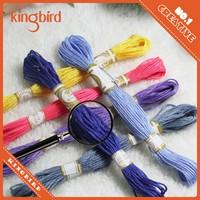 thread with 100% egyptian cotton similar dmc embroidery thread