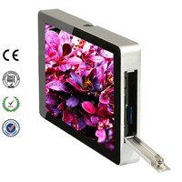 """10.1"""" Brand New Back Fixing Electronical LCD Advertising Product"""