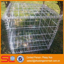 ISO9001 factory hot sale welded gabion mesh container 1000mm x 500mm x 500mm gabion galvanized decorative for garden