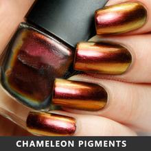 Chameleon Pigment, Chameleon Color Change Paint Powder For Nail Polish, Car Paint Etc