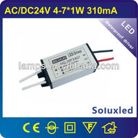dc to dc 4-7w waterproof led driver
