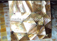 Brownlip MOP brown shell mosaic tile