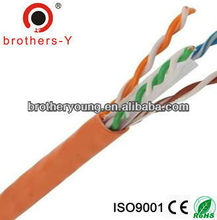 computer cable network cableSHENZHEN FACTORY price LAN cable cat6 BARE COPPER/CCA /CCAM FLUKE ROHS,CE,ISO
