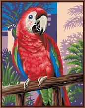 animal bird canvas oil painting factory hot selling painting GX6475 painting by numbers animal picture