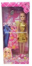 2015 venda quente doce menina boneca brinquedos para crianças com preço barato em yiwu por yx001 b1