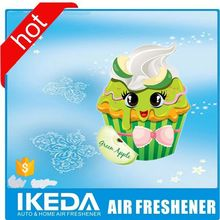 Fancy items car air freshener cute paper air freshener