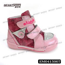 Newest stylish perfect steps children shoes/genuine leather shoes children