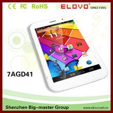 Quad core envío 3D Android tablet 3 G ranura para tarjeta de sim