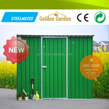 Home&garden used galvanized steel sheet metal shed house