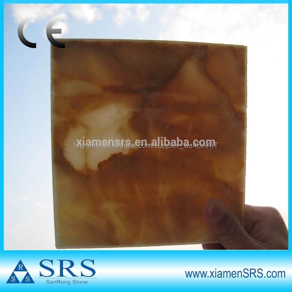 luna gialla incredibile cinese piastrelle di marmo oro