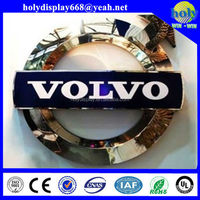 LED backlit car logo sings, car brand signs names with nice finish
