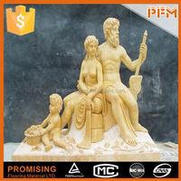 Outdoor park and plaza design marble semi precious stone carving statue