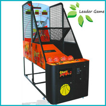 Indoor amusement game machine shooting basketball game