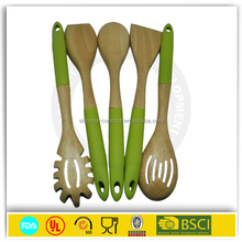 Suppliers china China Manufacturer wooden kitchen utensils with decorated handle