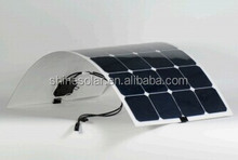 Hot sell low price light weight adhesive thin film flexible solar panel for RV / Boats