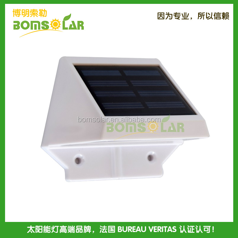 Quality Solar Wall Lights : High Quality Solar Led Outdoor Wall Light White Plastic Solar Wall Lamp With Good Looking Solar ...