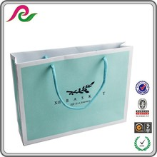 paper carrier bags for fashion shopping paper carton bag High quality luxury design bag