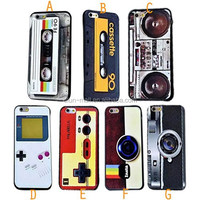 alibaba china for Iphone 6 Magnetic tape cover Case ,Retro case for Iphone 6 wholesale