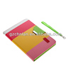 Polychrome wallet flip case for ipad air leather case