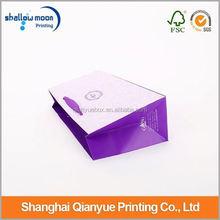 Customized design OEM popular paper shopping bags