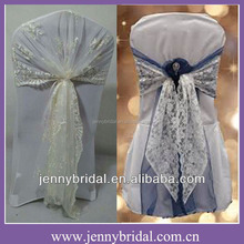 C122D lace chair wrap , lace chair sash, wedding lace chair covers
