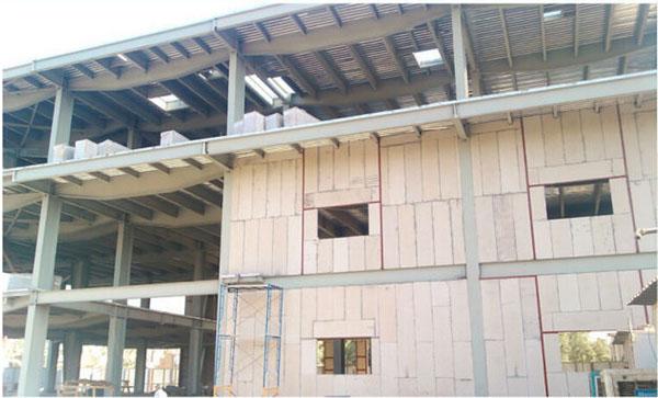 precast light weight anti-quake eps cement sandwich house prefab