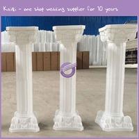 k5881 plastic roman wedding flower pillar