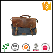 2015 Latest old-fashioned PU Leather men Handbags
