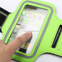 2015 Waterproof fashion document sport armband bags for Iphone 6/6plus