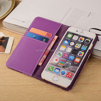 Smart phone Leather pu Purse Case Leather PU Purse Case, Case For iphone 6s Wallet Case ,For iphone 6s Smart phone purse Case