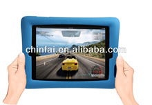 silicon shock proof case for iPad 2/3/4 with back stand
