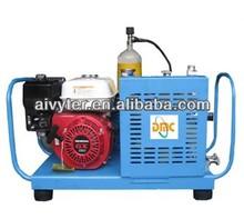 portable scuba diving breathing air compressor
