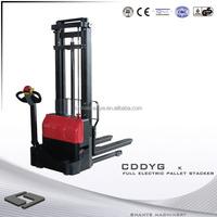 SHANYE full electric hydraulic stacker