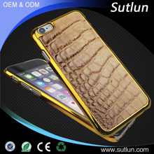 Luxury Genuine Leather Phone Back Cover Case For Samsung Galaxy Note 5 Crocodile Skin For Samsung Galaxy Note 5