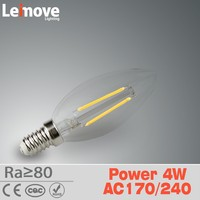 2015 g8 base led candle bulb e14 ,3 year warranty led