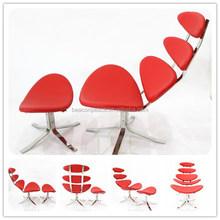Corona silla con otomana by Poul m. Volther