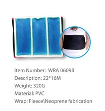 cold hot Wraps With Gel Pack Heating Thermal lumbar back support belt
