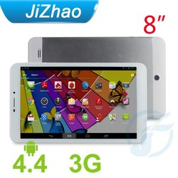 """Phone call 8"""" MT8382 Quad core Android, tablet pc silver 3800mAh"""