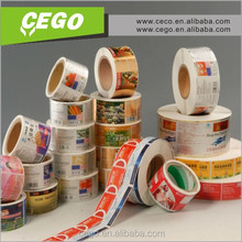 Various materials blank sticker label self adhesive
