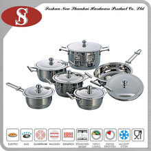 12Pcs New arrival 304 stainless steel pot