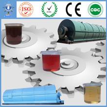 Proyecto de energía renovable a partir de máquinas de China para el reciclaje de aceite neumático de goma de residuos