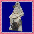 Diferentes tipos de escultura, jardim estátua decoração, escultura design