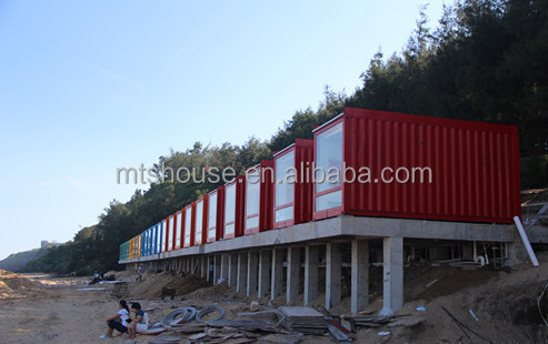 La derni re conception 2015 prefab8 plage maison luxe for Container maison taille