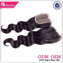 top fashion wholesale stock body wave cambodian hair lace closures