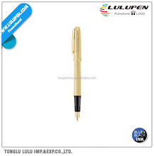 Prelude 22K Gold Plated Fountain Promotional Pen (Lu-Q16191)