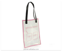 European Style PVC Printing Package Tote Promotion Bag