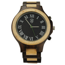 Mixed color Bewell Wristwatch Wooden Water Resistant Wooden WristWatch Women Men Bewell Wristwatch Wooden
