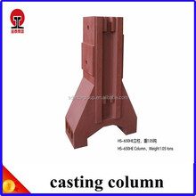 FCD 450 foundry column used in CNC machine
