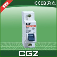 CGZ DZ47 series electrical miniature air circuit breakers